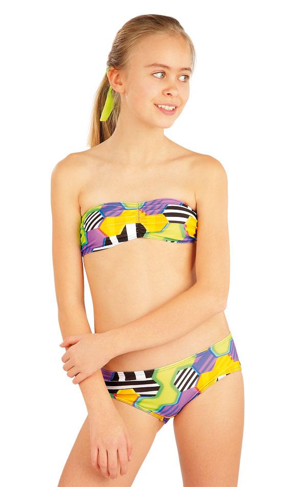 Dívčí plavky kalhotky bokové. 52618 | Dívčí plavky LITEX