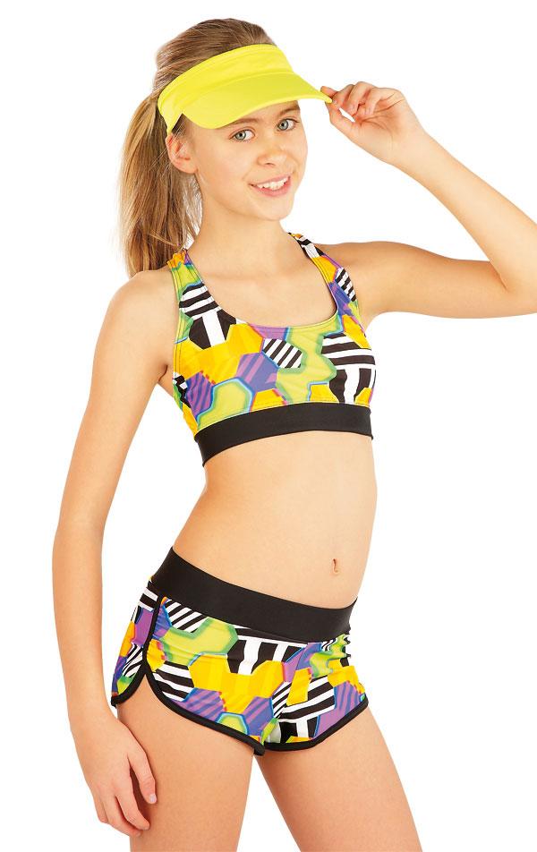 Dívčí plavky sportovní top. 52619 | Dívčí a dětské plavky LITEX