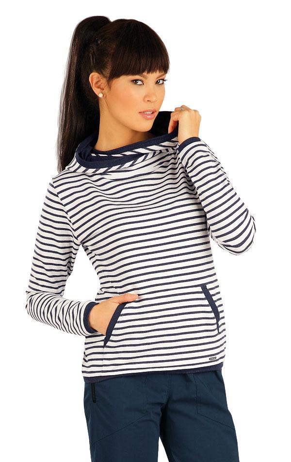 Mikina dámská s kapucí. 54011 | Sportovní oblečení LITEX