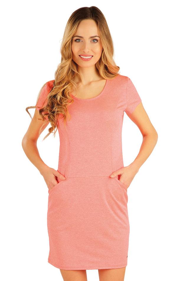 Šaty dámské s krátkým rukávem. 54024 | Sportovní oblečení LITEX