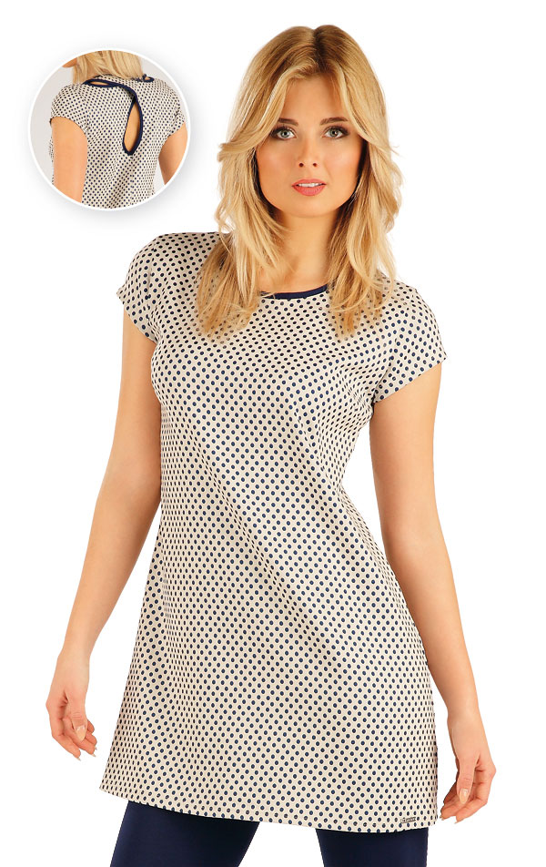 Šaty dámské s krátkým rukávem. 54027 | Sportovní oblečení LITEX