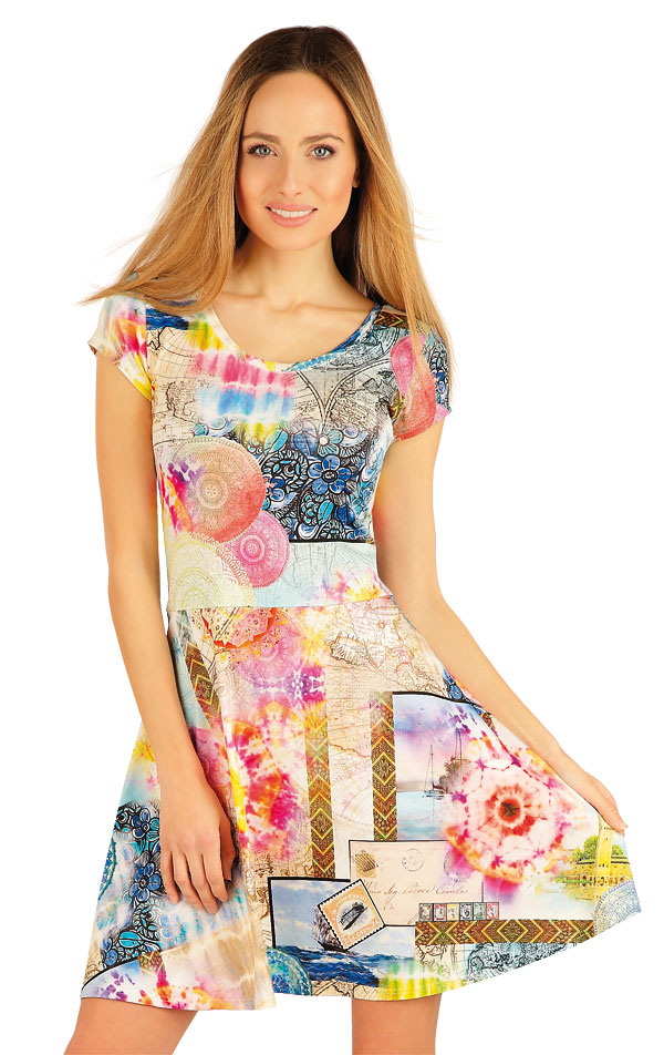 Šaty dámské s krátkým rukávem. 54039 | Sportovní oblečení LITEX