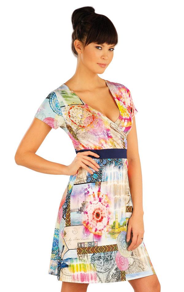 Šaty dámské s krátkým rukávem. 54040 | Sportovní oblečení LITEX
