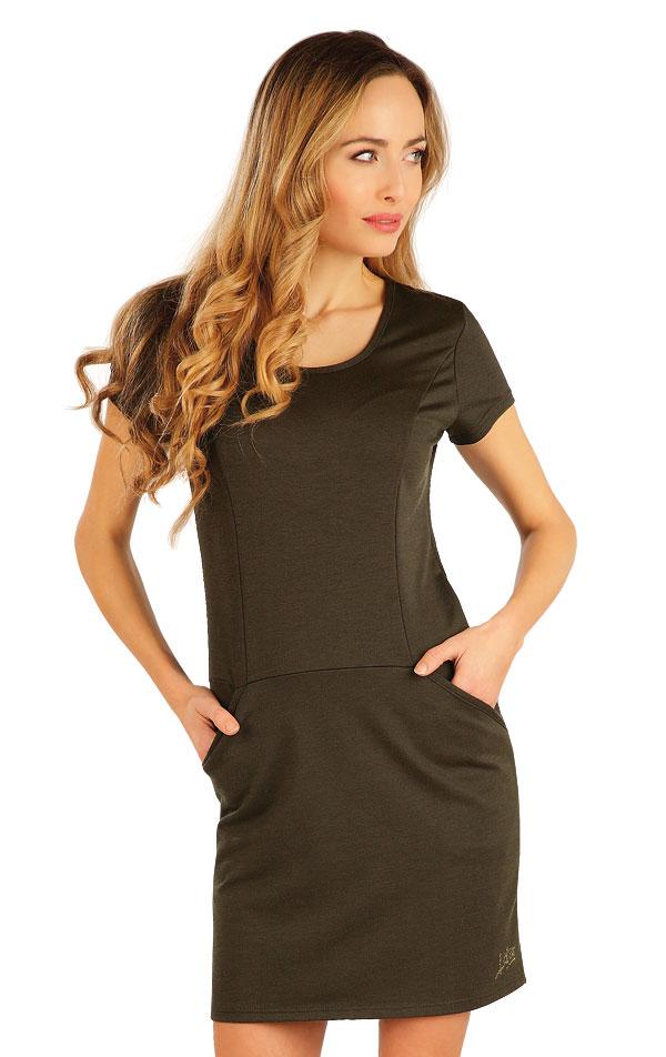 Šaty dámské s krátkým rukávem. 54068 | Šaty a sukně LITEX