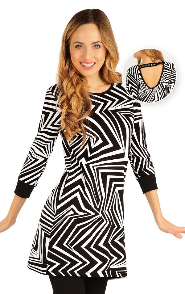 Tunika dámská s 3/4 rukávem. 54078 | Šaty a sukně LITEX