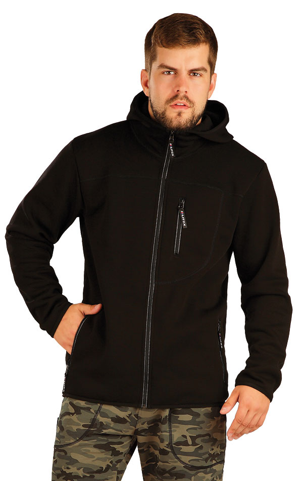 Bunda pánská s kapucí. 54120   Pánské oblečení LITEX