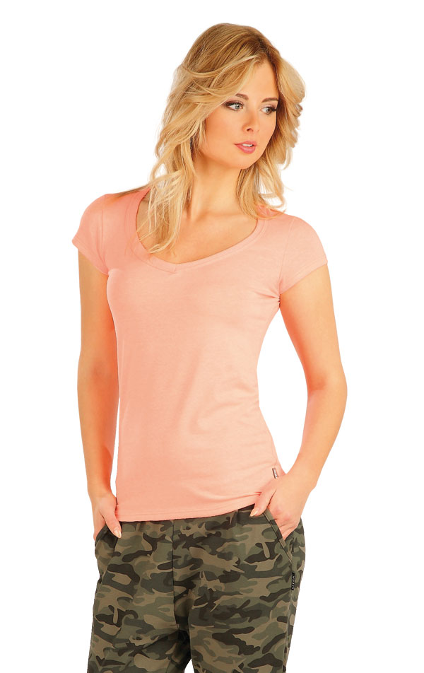 Triko dámské s krátkým rukávem. 54137 | Sportovní oblečení LITEX
