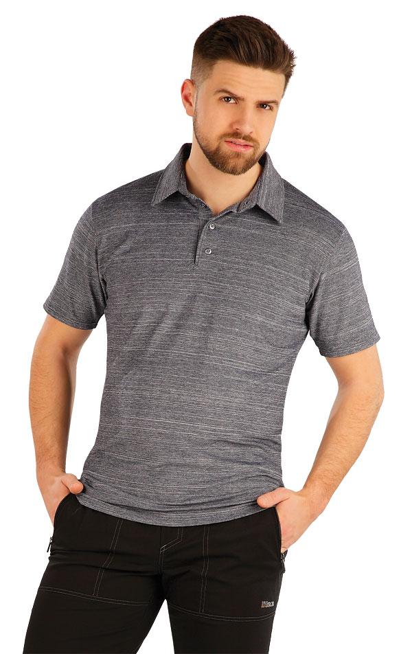 Polo triko pánské s krátkým rukávem. 54157 | Pánské oblečení LITEX