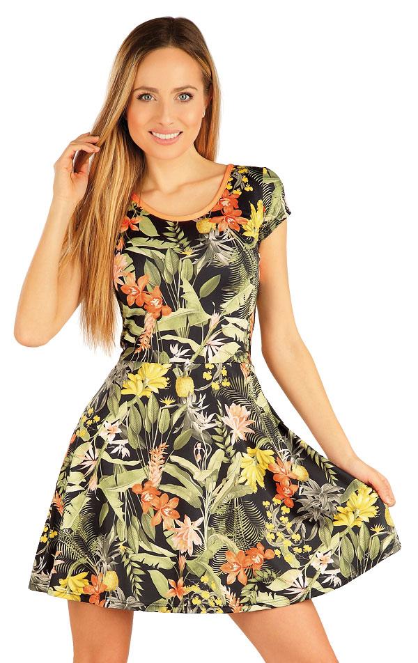 Šaty dámské s krátkým rukávem. 54187 | Sportovní oblečení LITEX