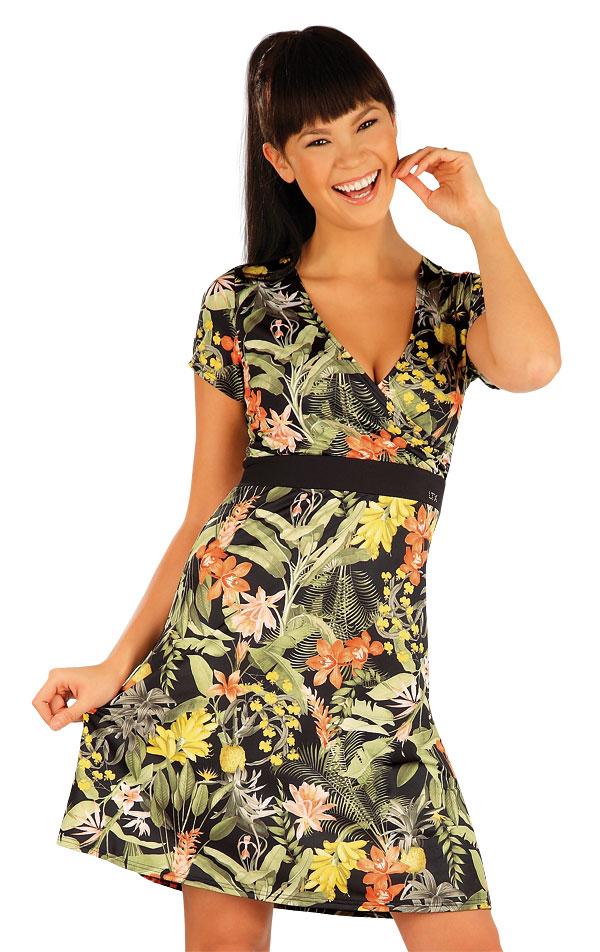 Šaty dámské s krátkým rukávem. 54188 | Sportovní oblečení LITEX