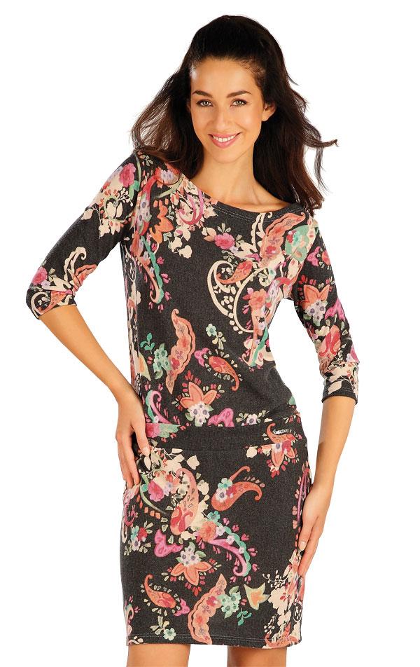 Šaty dámské s dlouhým rukávem. 55002 | Šaty a sukně LITEX