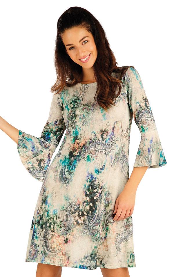 Šaty dámské s 3/4 rukávem. 55013   Sportovní oblečení LITEX