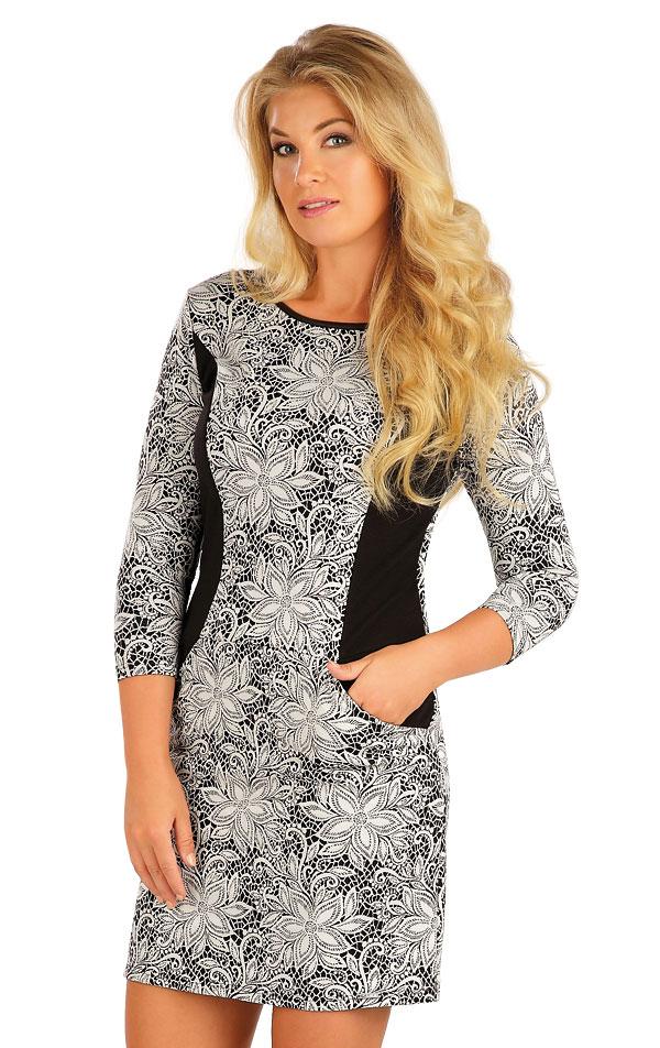 Šaty dámské s 3/4 rukávem. 55034 | Šaty a sukně LITEX