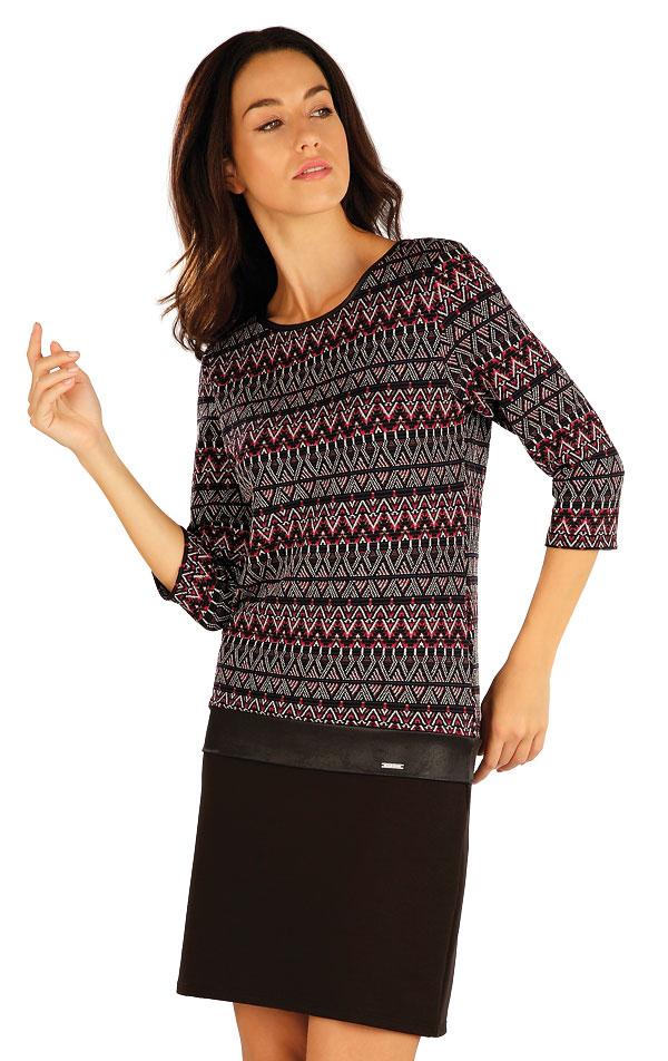 Šaty dámské s 3/4 rukávem. 55039 | Šaty a sukně LITEX