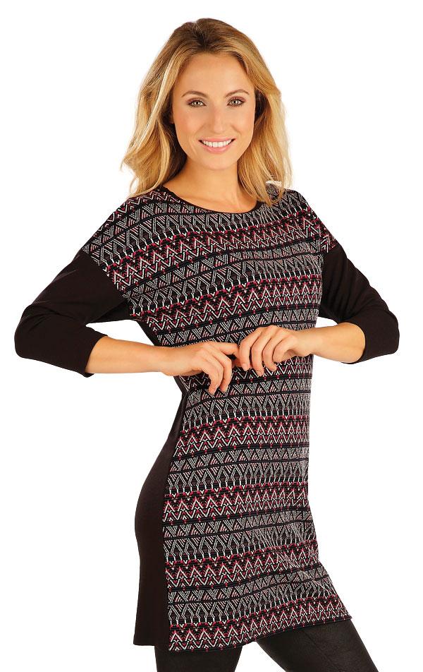 Tunika dámská s 3/4 rukávem. 55040 | Šaty a sukně LITEX