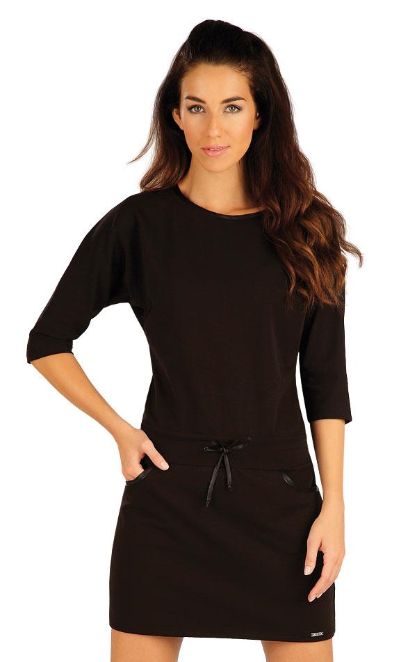 Šaty dámské s 3/4 rukávem. 55042 | Šaty a sukně LITEX