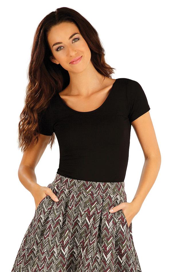 Triko dámské s krátkým rukávem. 55091 | Trika, topy, tílka LITEX