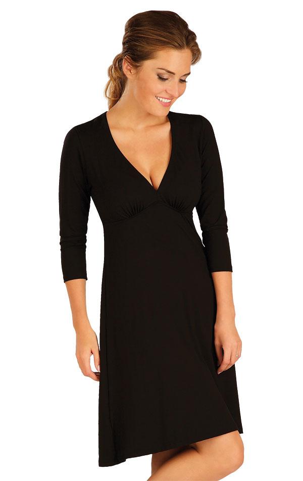 Šaty dámské s 3/4 rukávem. 55094   Šaty a sukně LITEX