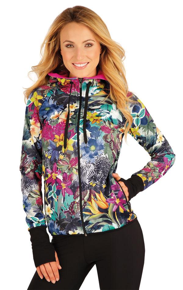 Mikina dámská s kapucí. 55103 | Vesty a bundy LITEX