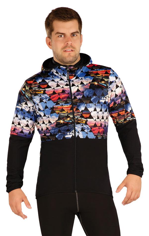 Mikina pánská s kapucí. 55113 | Pánské oblečení LITEX
