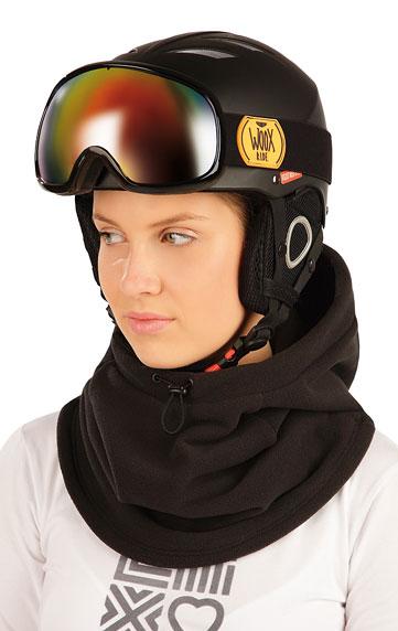Fleecová kukla lyžařská na helmu.
