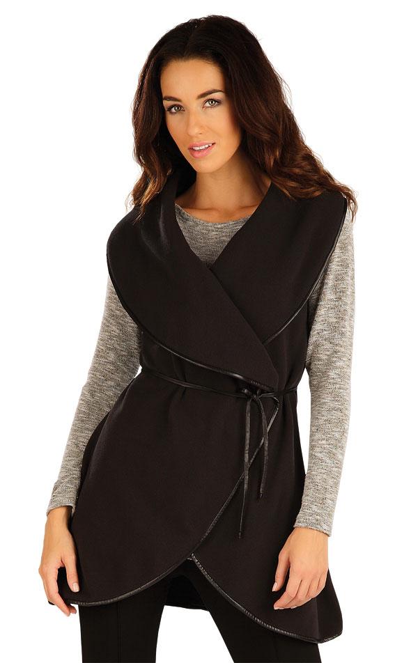 Fleecová vesta dámská dlouhá. 55206 | Vesty a bundy LITEX