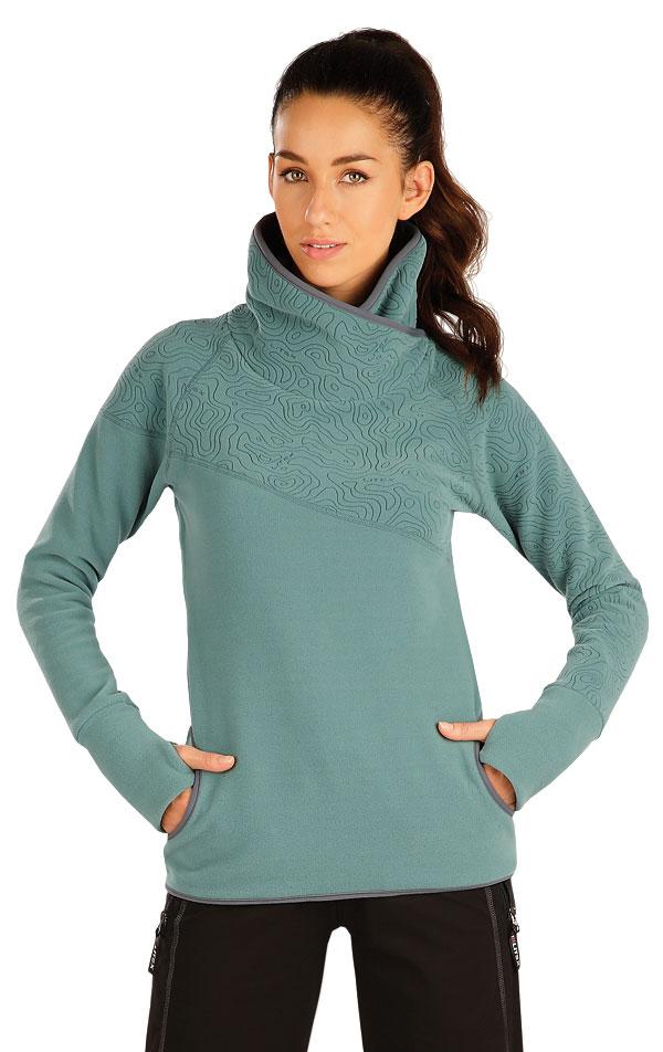 Fleecová mikina dámská. 55207 | Sportovní oblečení LITEX