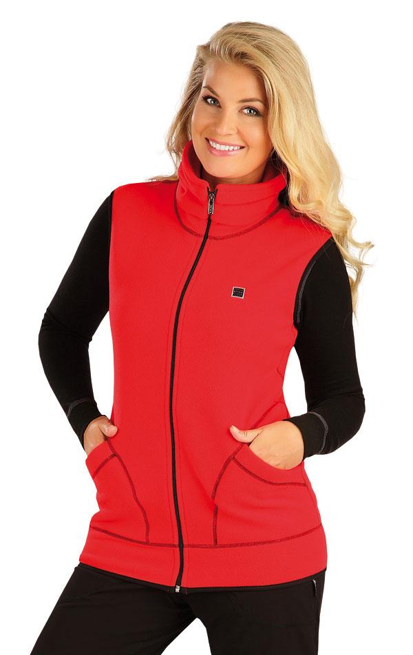 Fleecová vesta dámská. 55214   Sportovní oblečení LITEX