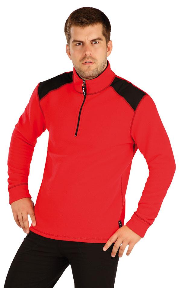 Fleecová mikina pánská. 55216 | Sportovní oblečení LITEX