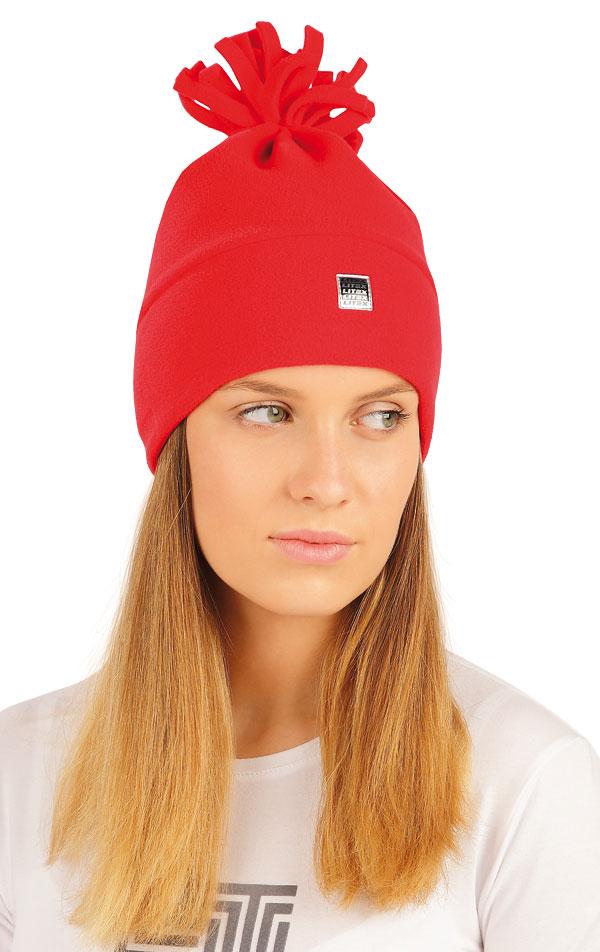 Fleecová čepice. 55217 | Sportovní oblečení LITEX