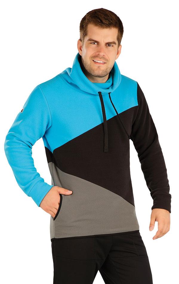 Fleecová mikina pánská. 55228   Pánské oblečení LITEX