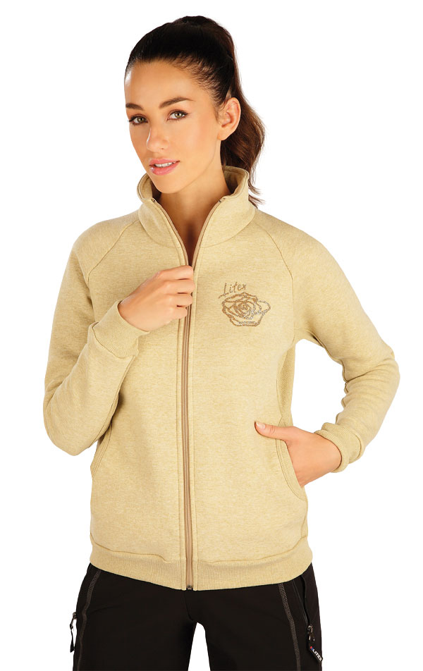 Mikina dámská na zip. 55296 | Sportovní oblečení LITEX