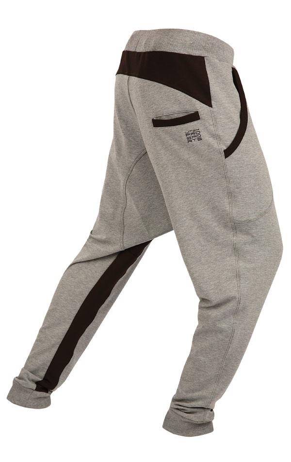 Tepláky pánské dlouhé s nízkým sedem. 55327 | Pánské oblečení LITEX