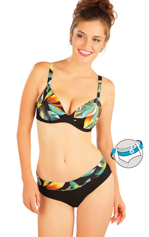 Plavky kalhotky středně vysoké. 57011 | Dvoudílné plavky LITEX