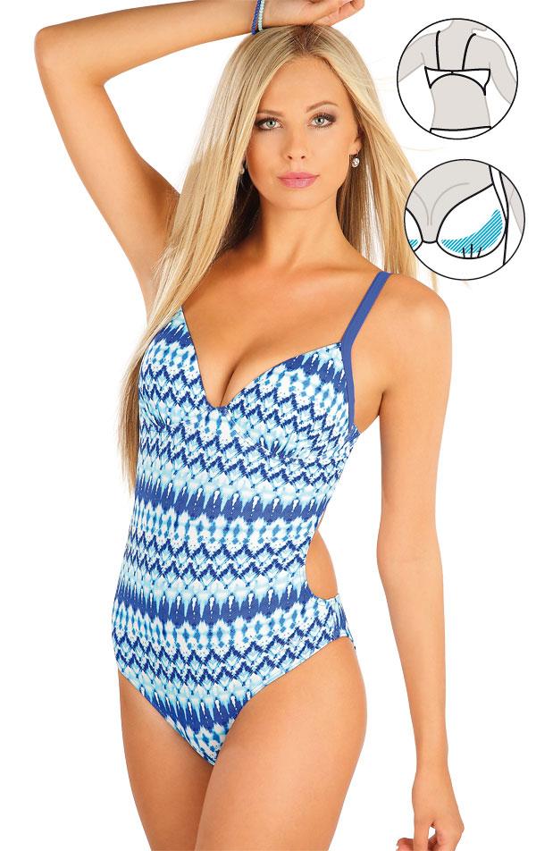 Jednodílné plavky s košíčky. 57130 | Jednodílné plavky LITEX