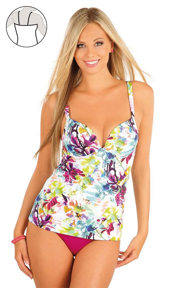 Plavky top dámský s košíčky. 57202 | Dvoudílné plavky LITEX