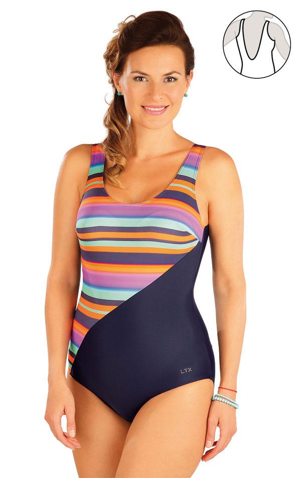 Jednodílné plavky s košíčky. 57228 | Jednodílné plavky LITEX