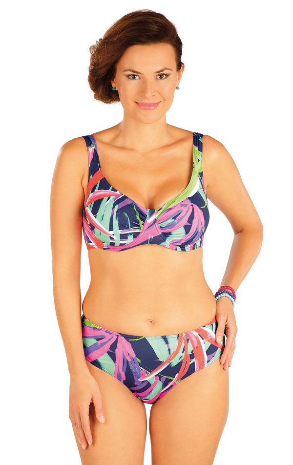 Plavky podprsenka s kosticemi. 57238   Dvoudílné plavky LITEX