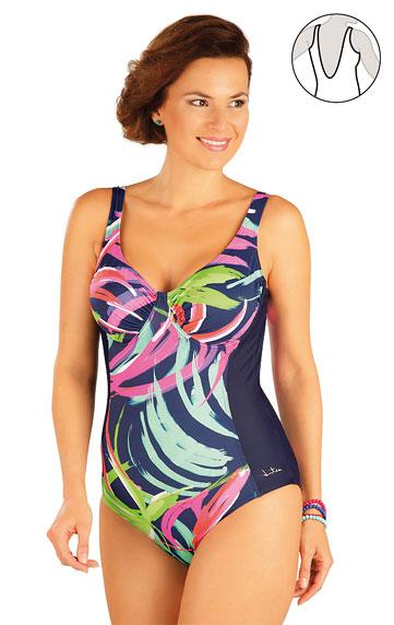 Jednodílné plavky s kosticemi.