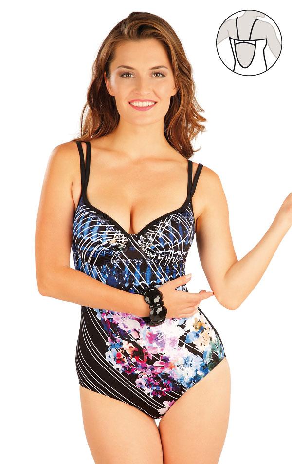 Jednodílné plavky s hlubokými košíčky. 57297 | Jednodílné plavky LITEX