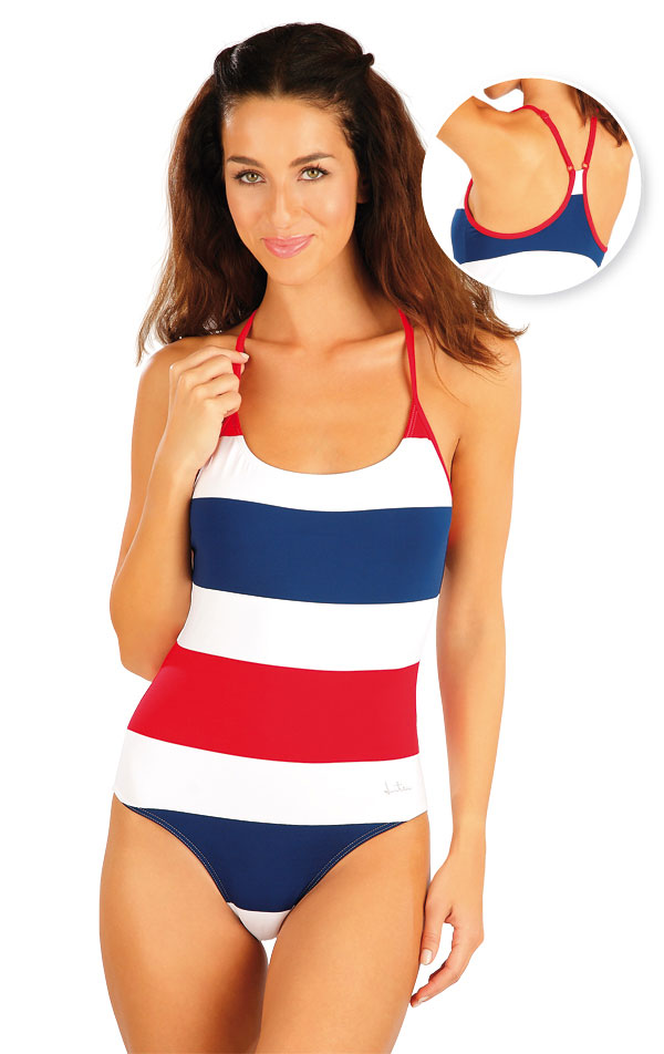 Jednodílné sportovní plavky. 57305 | Sportovní plavky LITEX