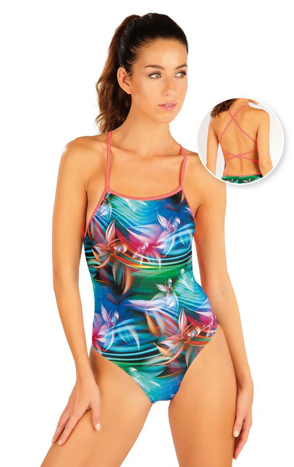 Jednodílné sportovní plavky. 57460 | Sportovní plavky LITEX