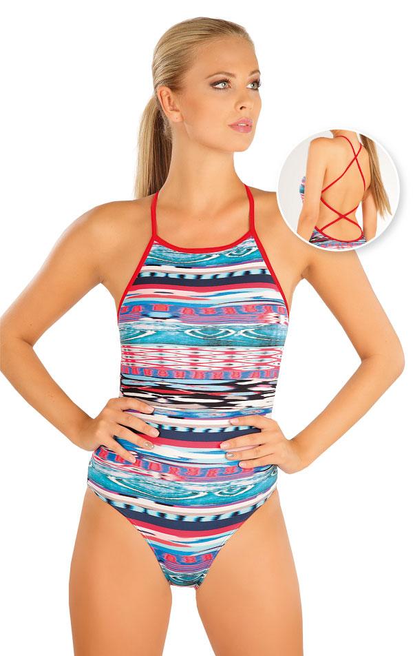 Jednodílné sportovní plavky. 57468 | Sportovní plavky LITEX