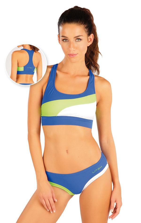 Plavky sportovní top bez výztuže. 57474 | Sportovní plavky LITEX