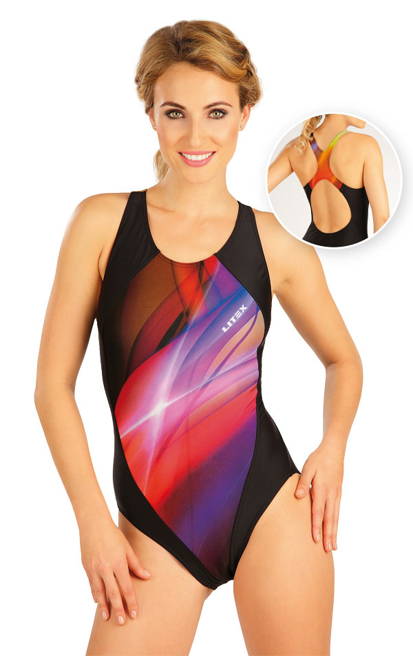 Jednodílné sportovní plavky. 57482 | Sportovní plavky LITEX
