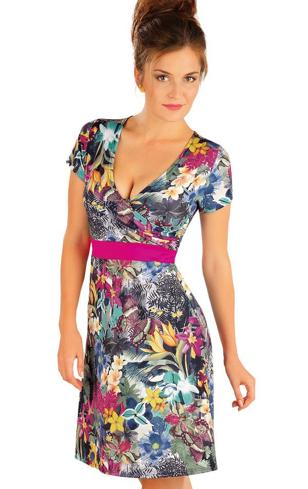 Šaty dámské s krátkým rukávem. 57495 | Plážové doplňky LITEX