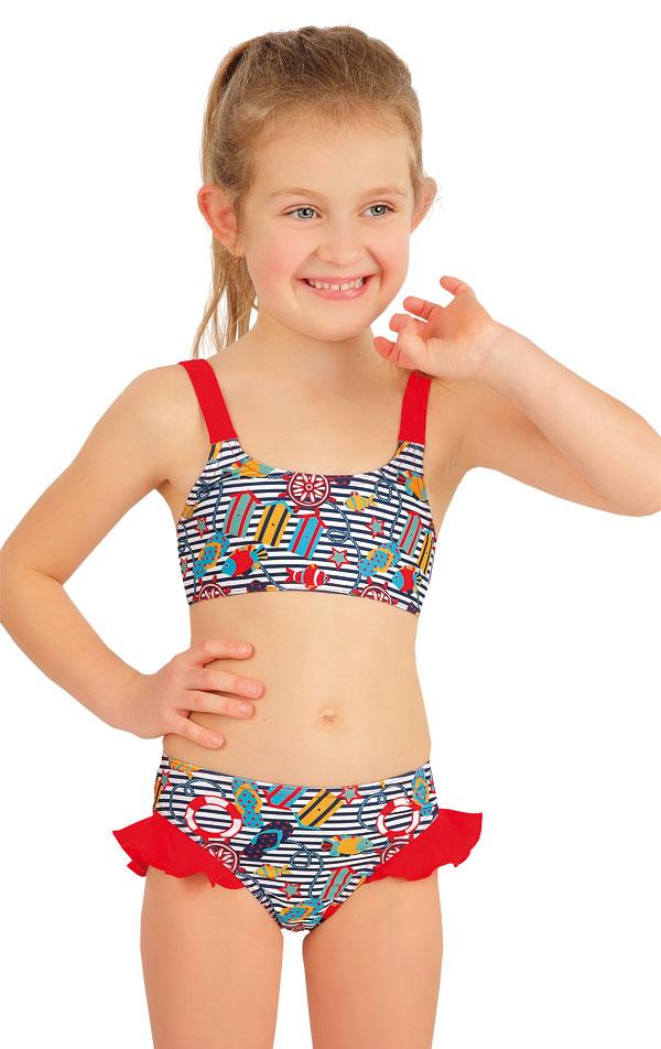 Dívčí plavky kalhotky bokové. 57531 | Dívčí plavky LITEX