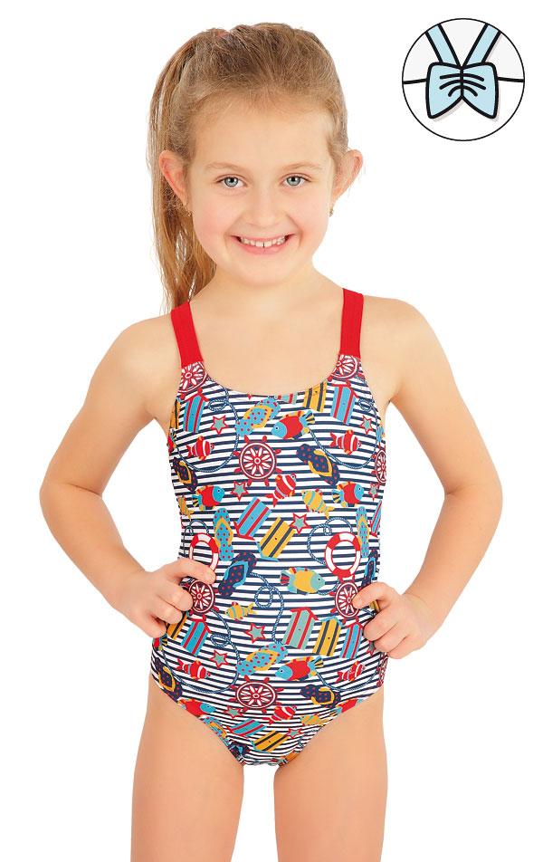Jednodílné dívčí plavky. 57532 | Dívčí plavky LITEX