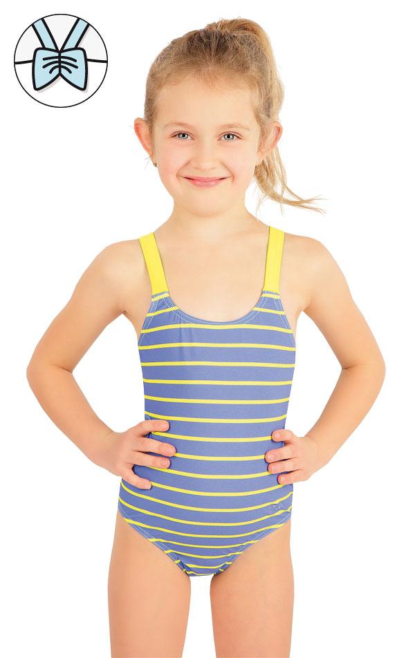 Jednodílné dívčí plavky. 57542 | Dívčí plavky LITEX