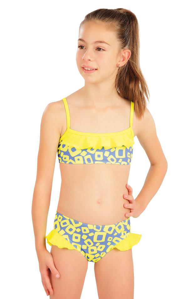 Dívčí plavky kalhotky bokové. 57544 | Dívčí plavky LITEX